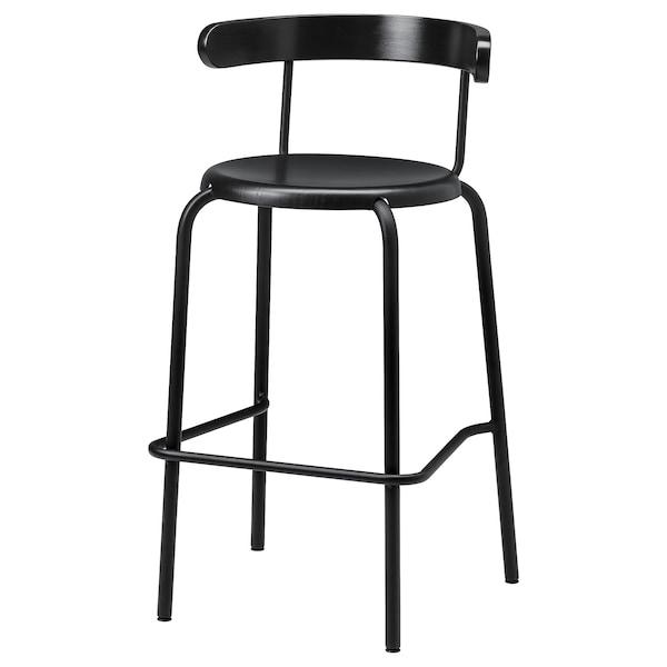 Yngvar Tabouret De Bar Anthracite Ikea