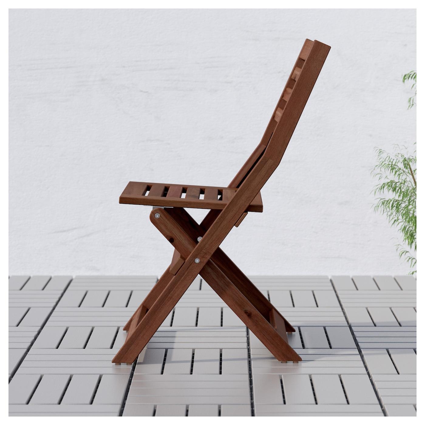 Elegant IKEA ÄPPLARÖ Chair, Outdoor