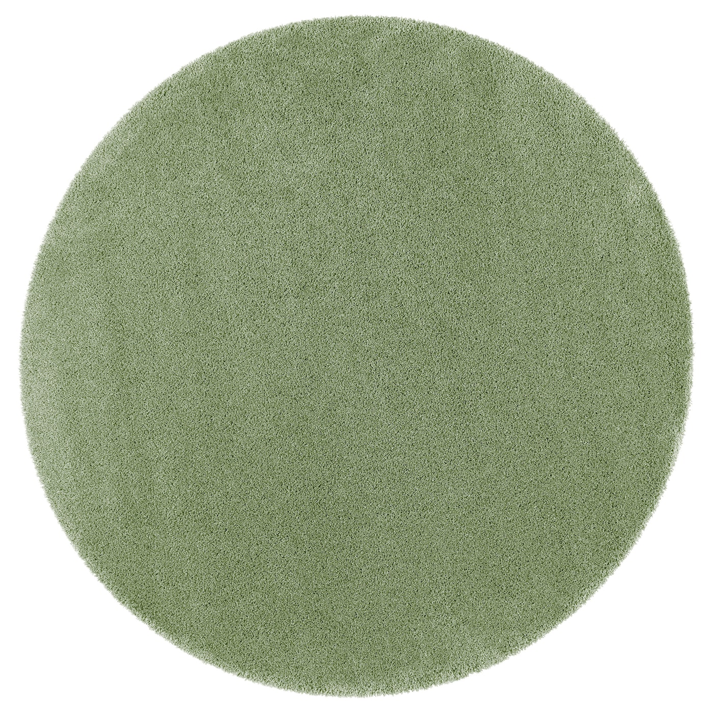 ÅDUM Rug, High Pile Light Green 195 Cm