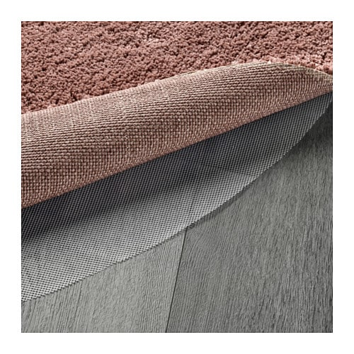 Ikea Adum Rug Light Brown Pink: ÅDUM Rug, High Pile Pale Pink 130 Cm