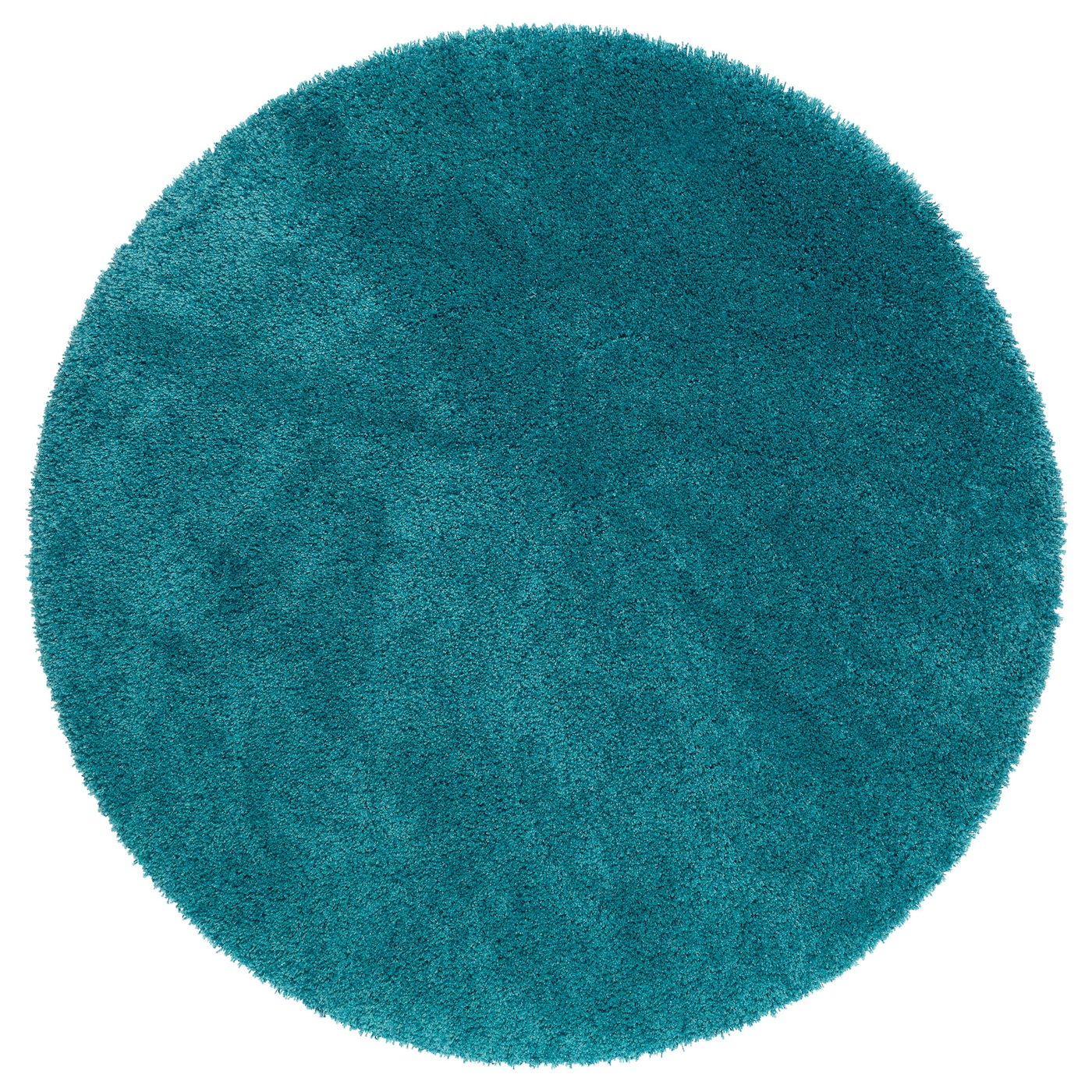 Dum rug high pile turquoise 130 cm ikea for Outdoor teppich ikea