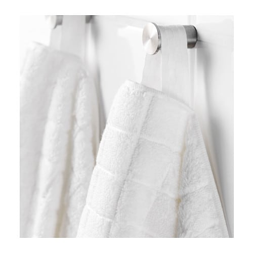 IKEA ÅFJÄRDEN washcloth The long, fine fibres of combed cotton create a soft and durable towel.