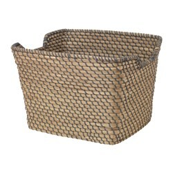IKEA ÅSUNDEN Basket Each Basket Is Woven By Hand And Is Therefore Unique.