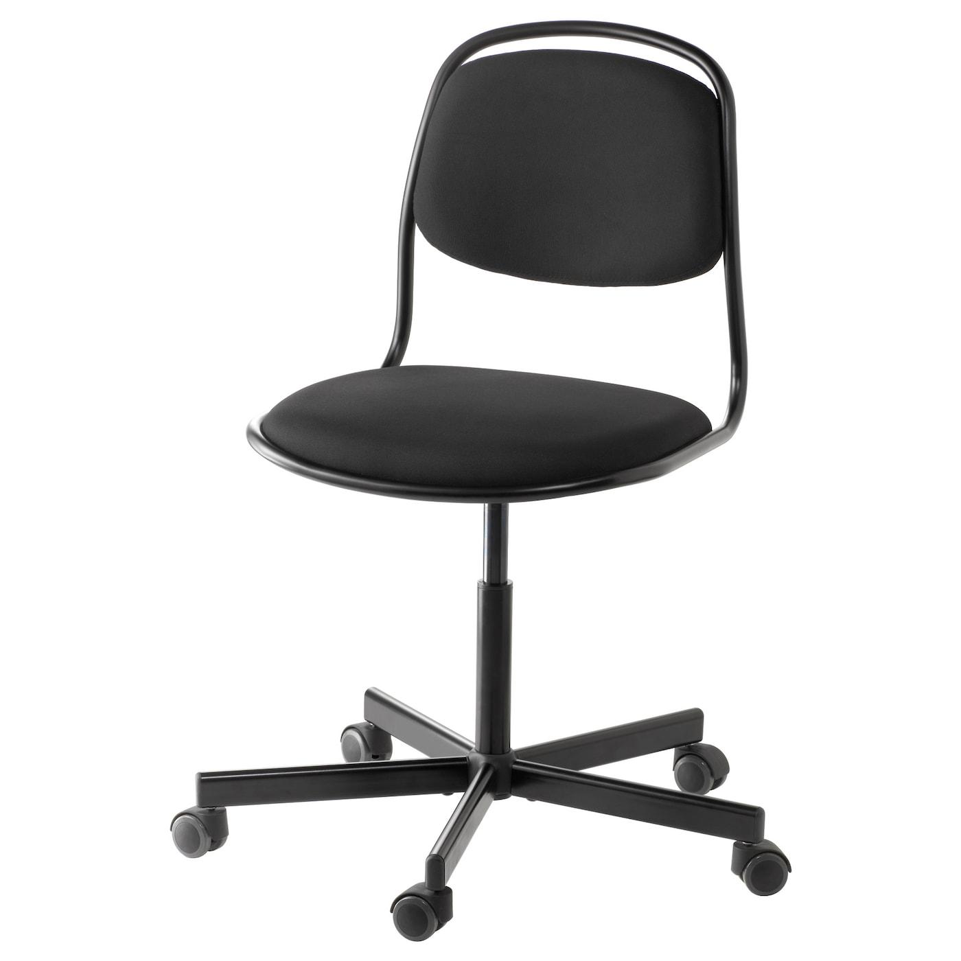 Black Swivel Chair 214 Rfj 196 Ll Sporren Swivel Chair Black Ikea