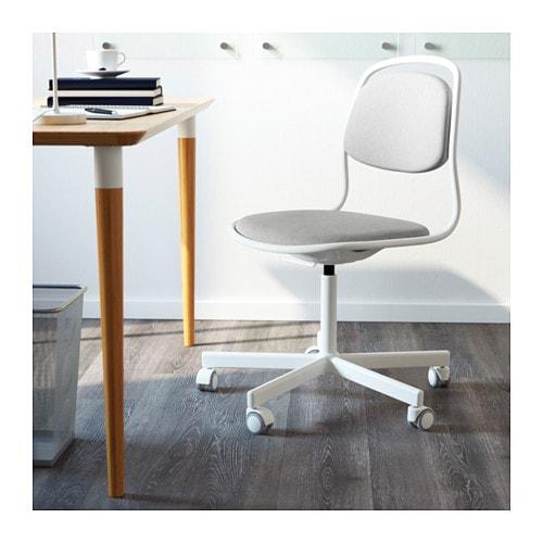 Ikea 214 rfj 196 ll sporren swivel chair you sit comfortably since the