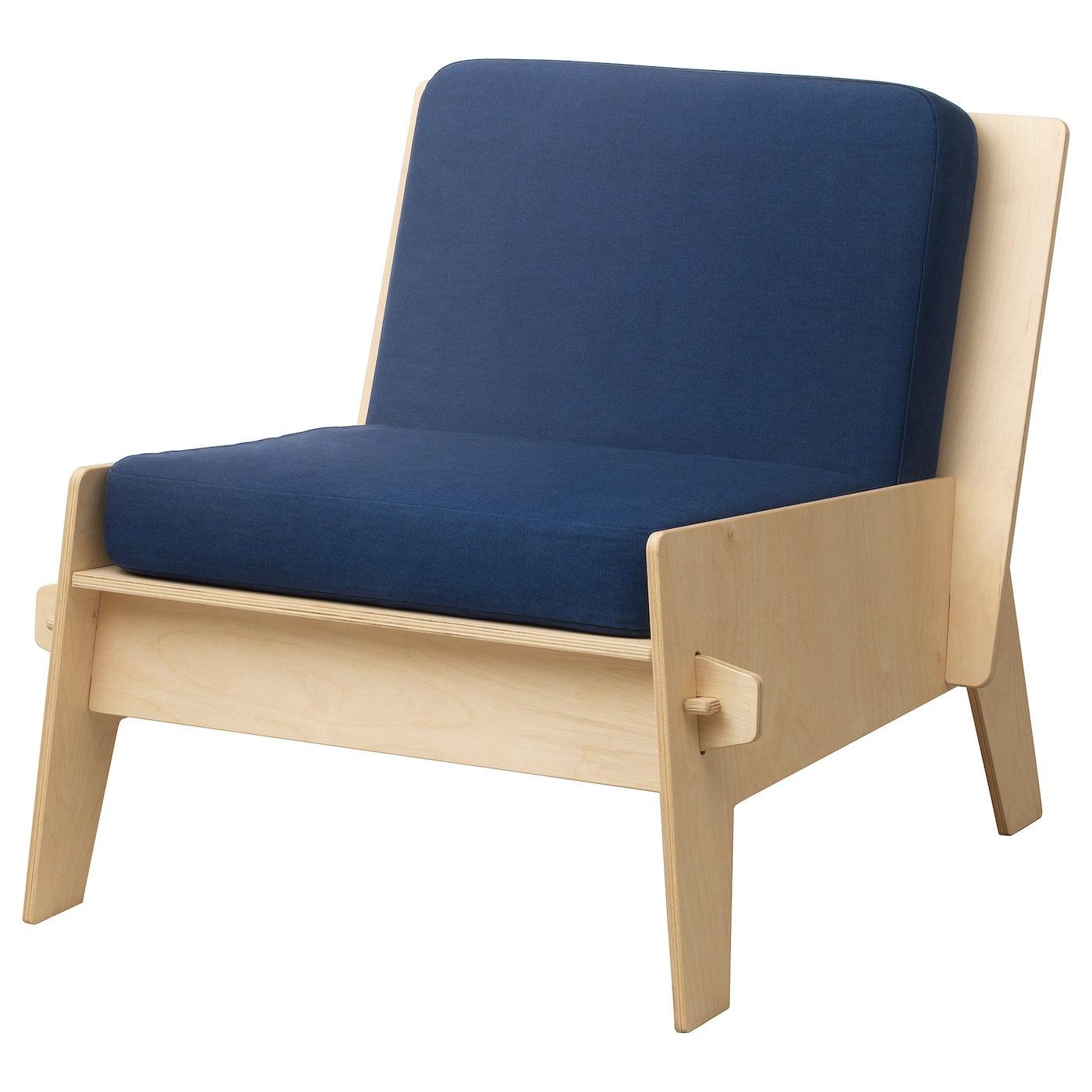IKEA ÖVERALLT easy chair with cushions The cushion is reversible and has two identical sides to use.