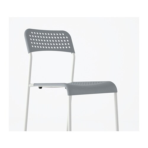 Ikea plastic stoel cool howto new life for ikeaus urban for Chaise urban ikea
