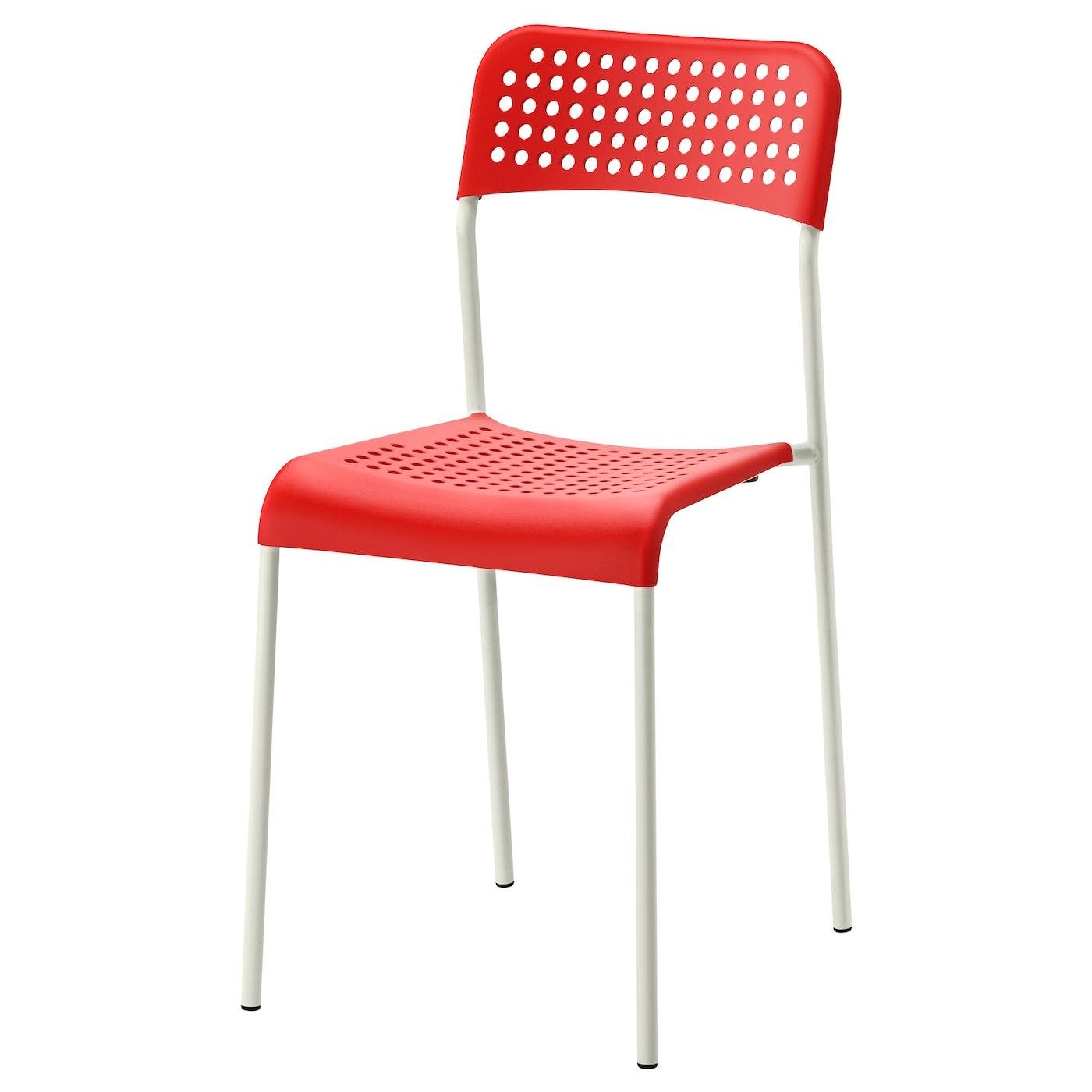 ADDE Chair Red white IKEA