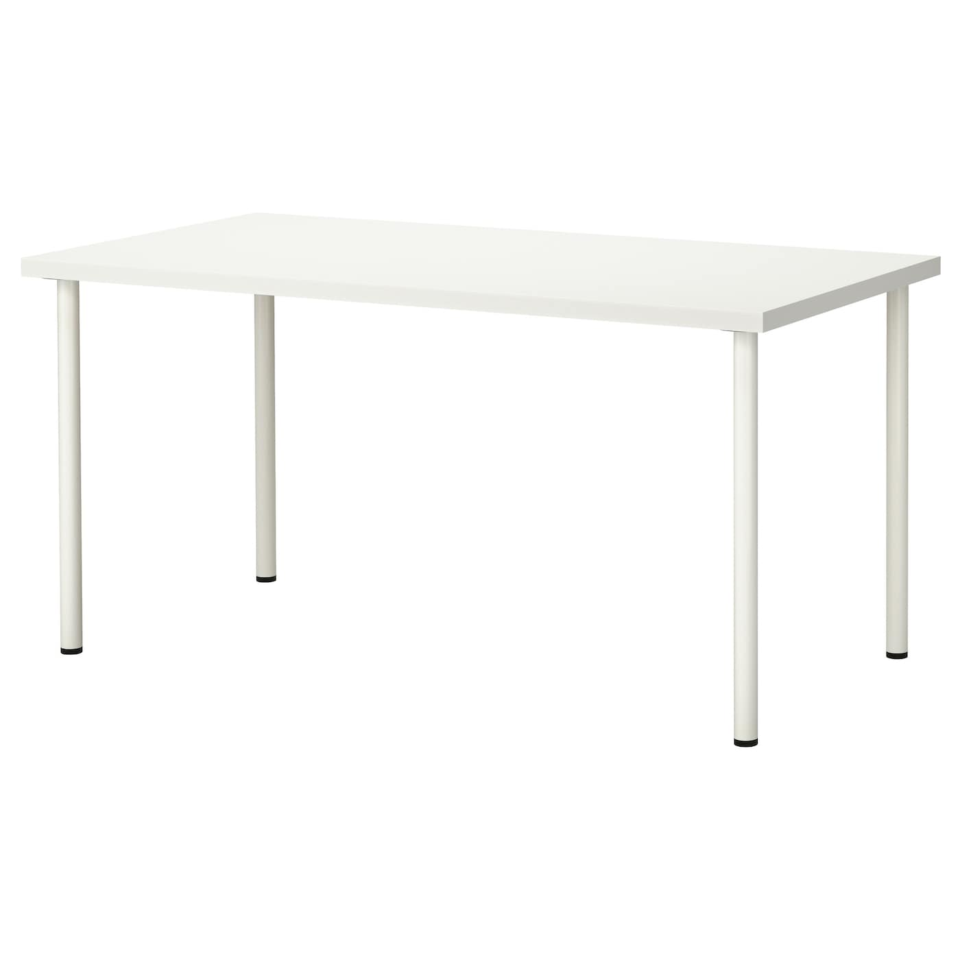 adils linnmon table white 150x75 cm ikea. Black Bedroom Furniture Sets. Home Design Ideas