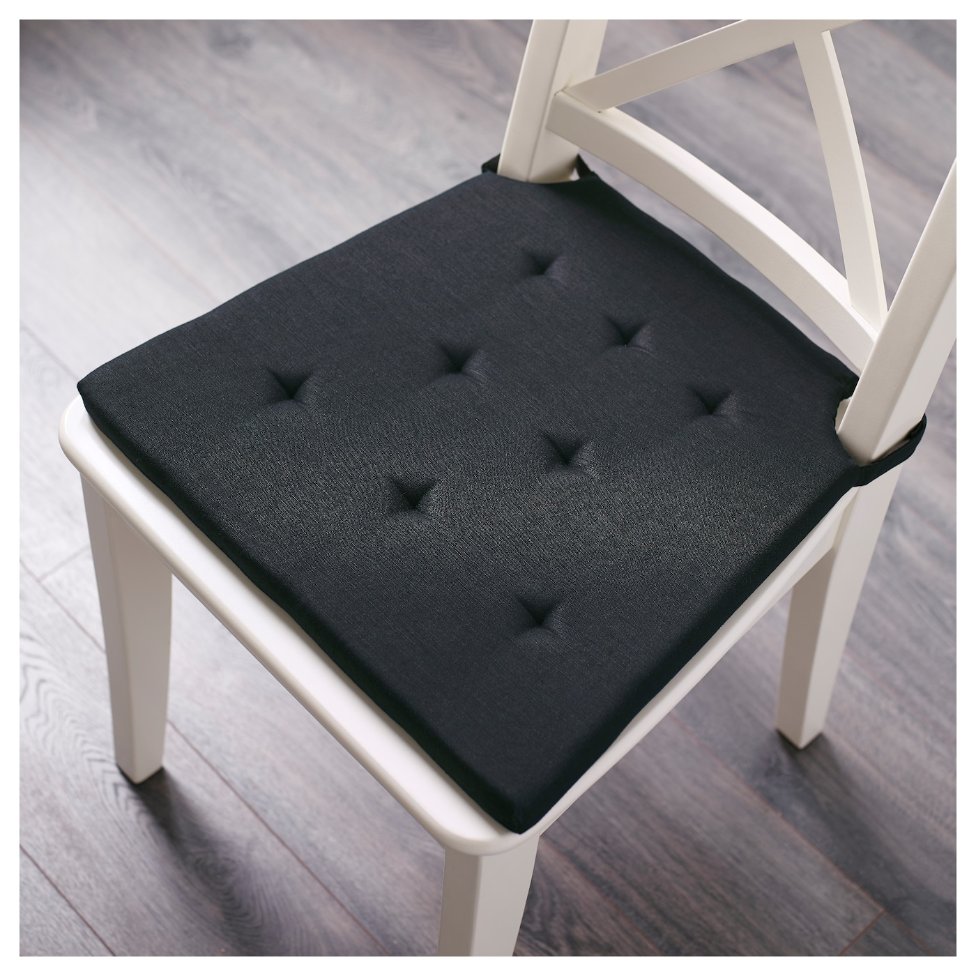 Chair Pad For Kitchen Sunbrella Outdoor Pads Dining Room  : admete chair pad black0406565pe567167s5 from www.hargapass.com size 2000 x 2000 jpeg 771kB