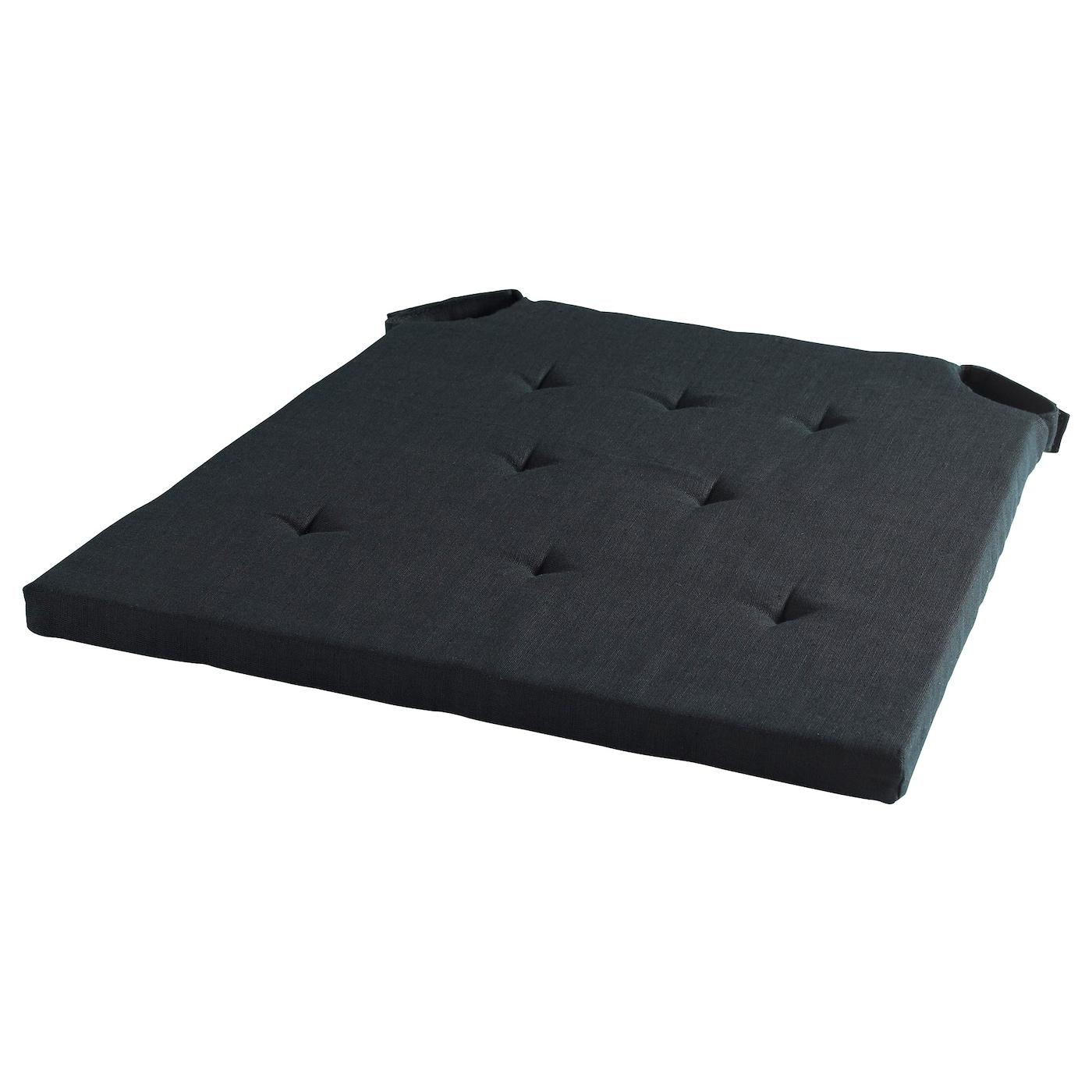 ADMETE Chair pad Black 43 36x42x2 5 cm IKEA