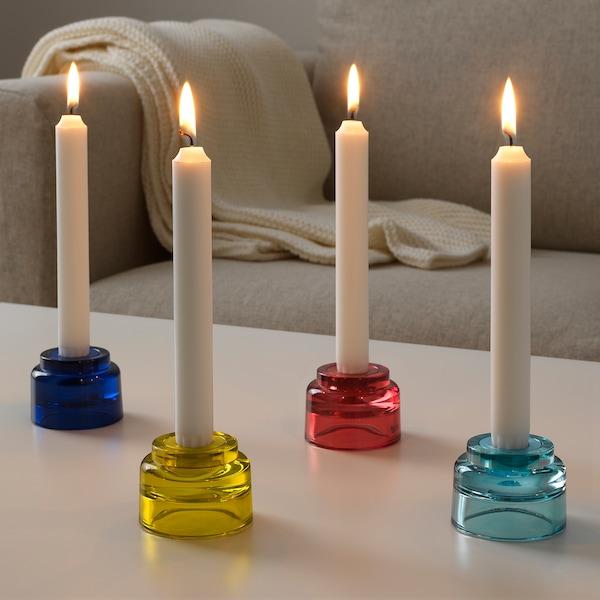 ÄDELHET Candlestick/tealight hldr, set of 4