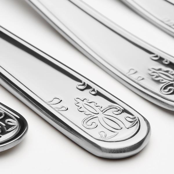 ÄTBART 24-piece cutlery set, stainless steel