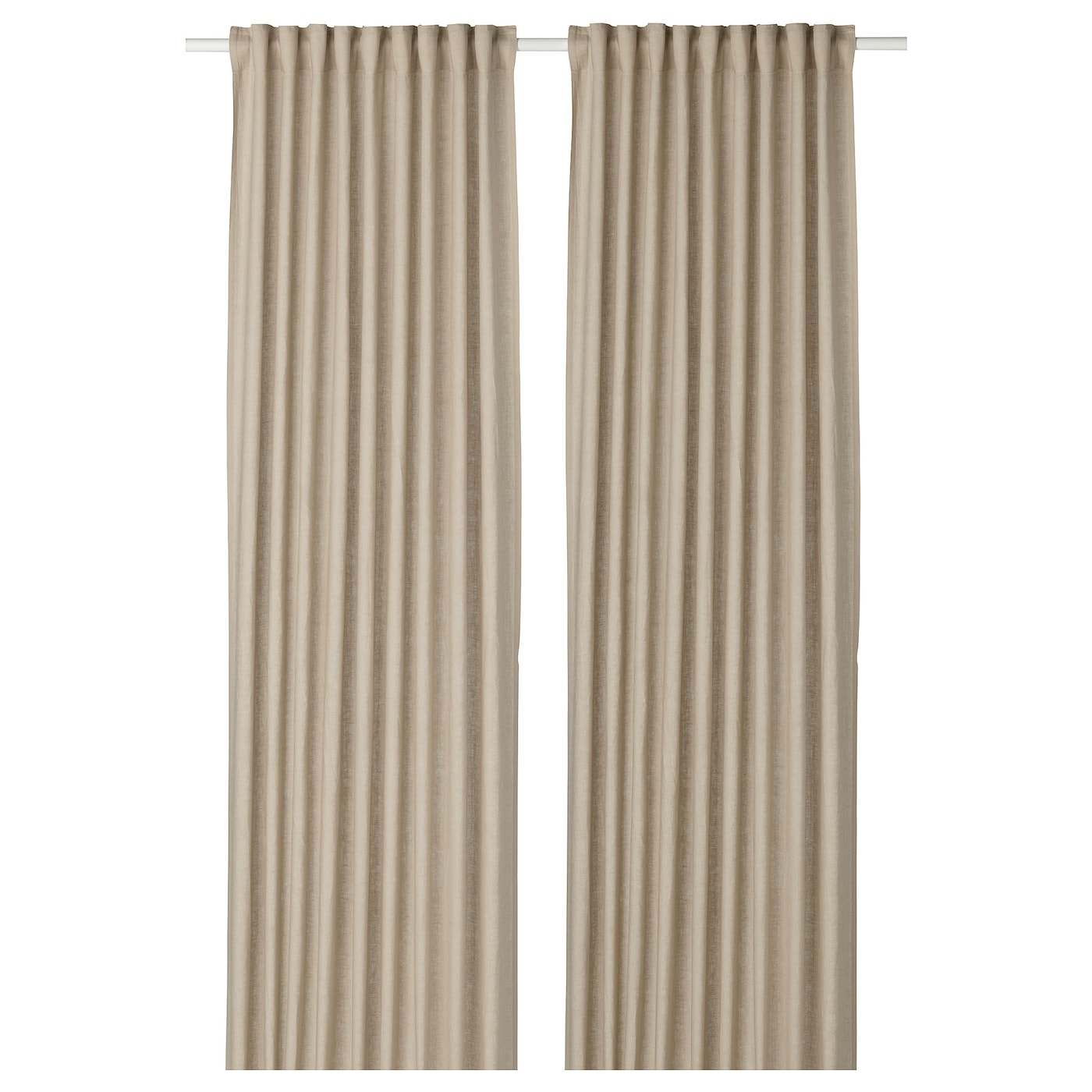 IKEA AINA Curtains 1 Pair The Can Be Used On A Curtain Rod Or