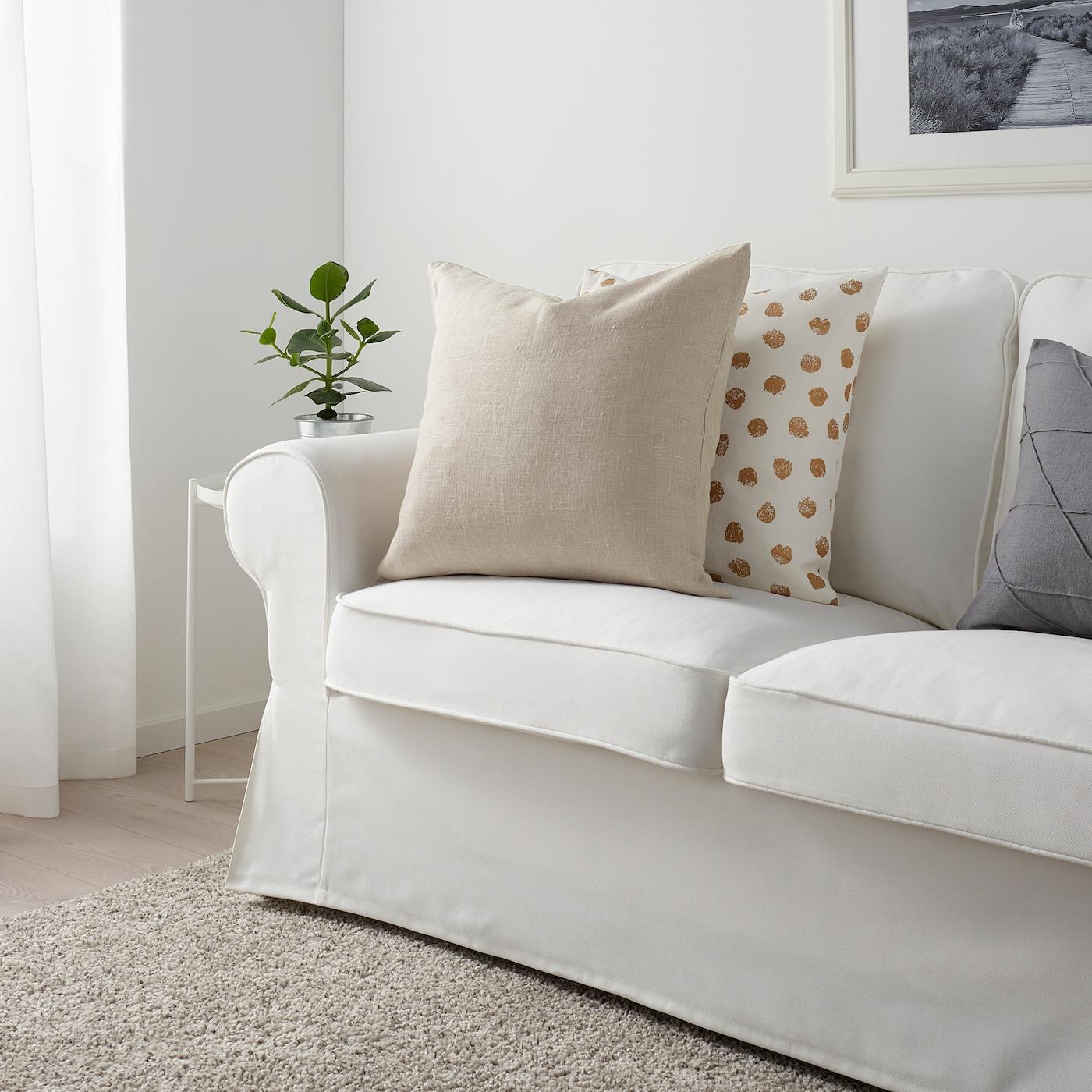 AINA Cushion cover beige 50x50 cm