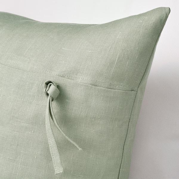 AINA Cushion cover, light green, 50x50 cm
