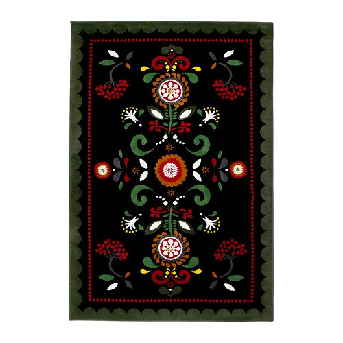 ÅKERKULLA Rug, low pile IKEA The dense, thick pile provides a soft and warm surface for your feet and also dampens sound.