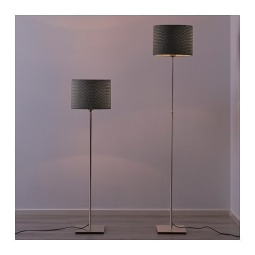 Ikea Alang Floor Lamp Nickel Plated Gray ~ IKEA ALÄNG floor lamp The height is adjustable to suit your lighting