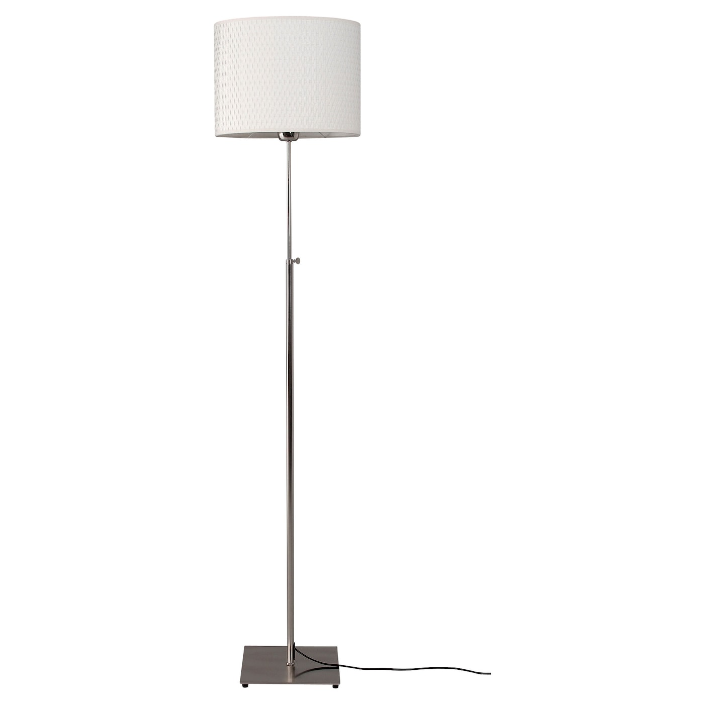 IKEA ALÄNG floor lamp The height is adjustable to suit your lighting needs.
