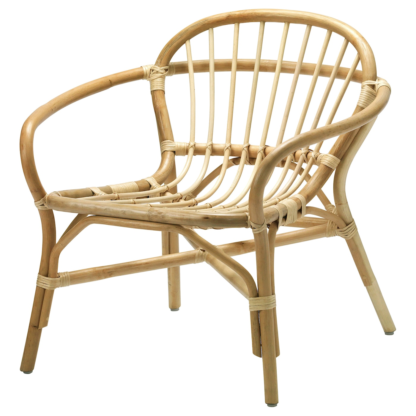 IKEA ALBACKEN armchair Handmade by a skilled craftsman.