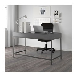 alex desk grey 131x60 cm ikea. Black Bedroom Furniture Sets. Home Design Ideas