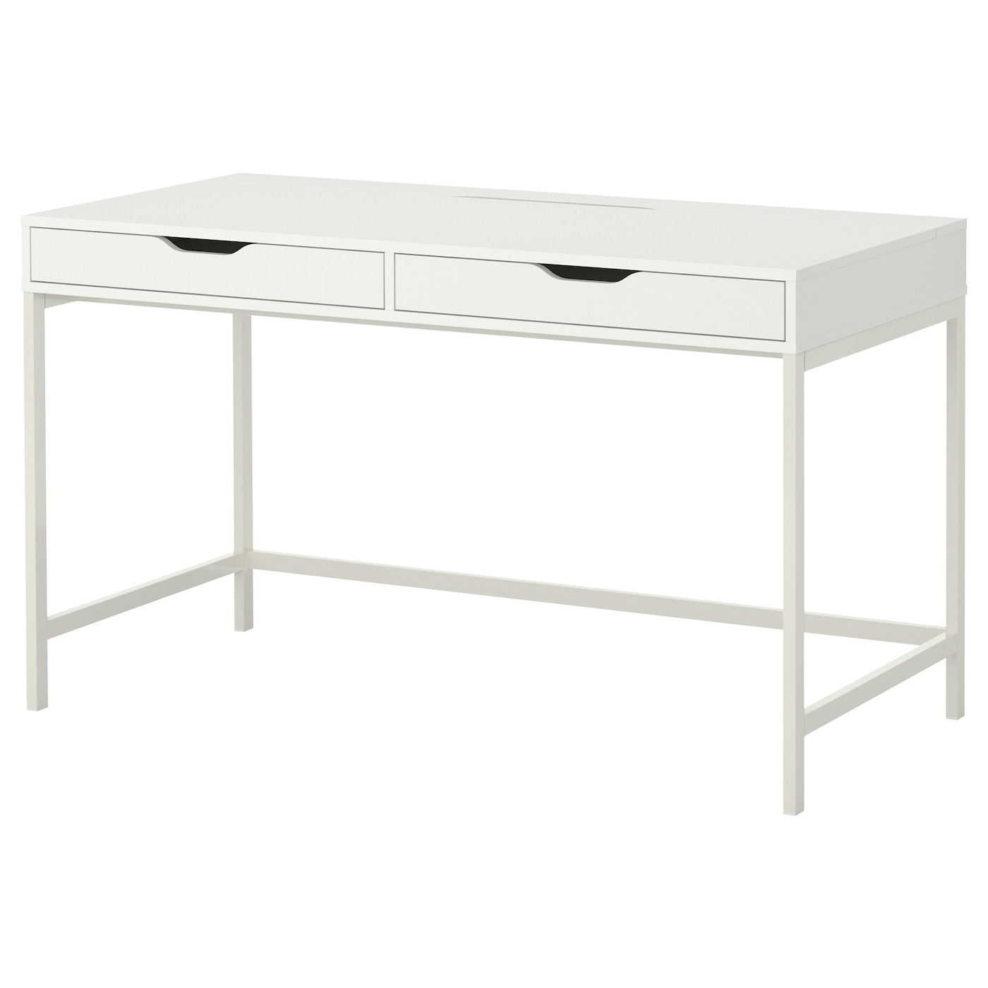 Alex desk white 131 x 60 cm ikea for Ikea drawing desk