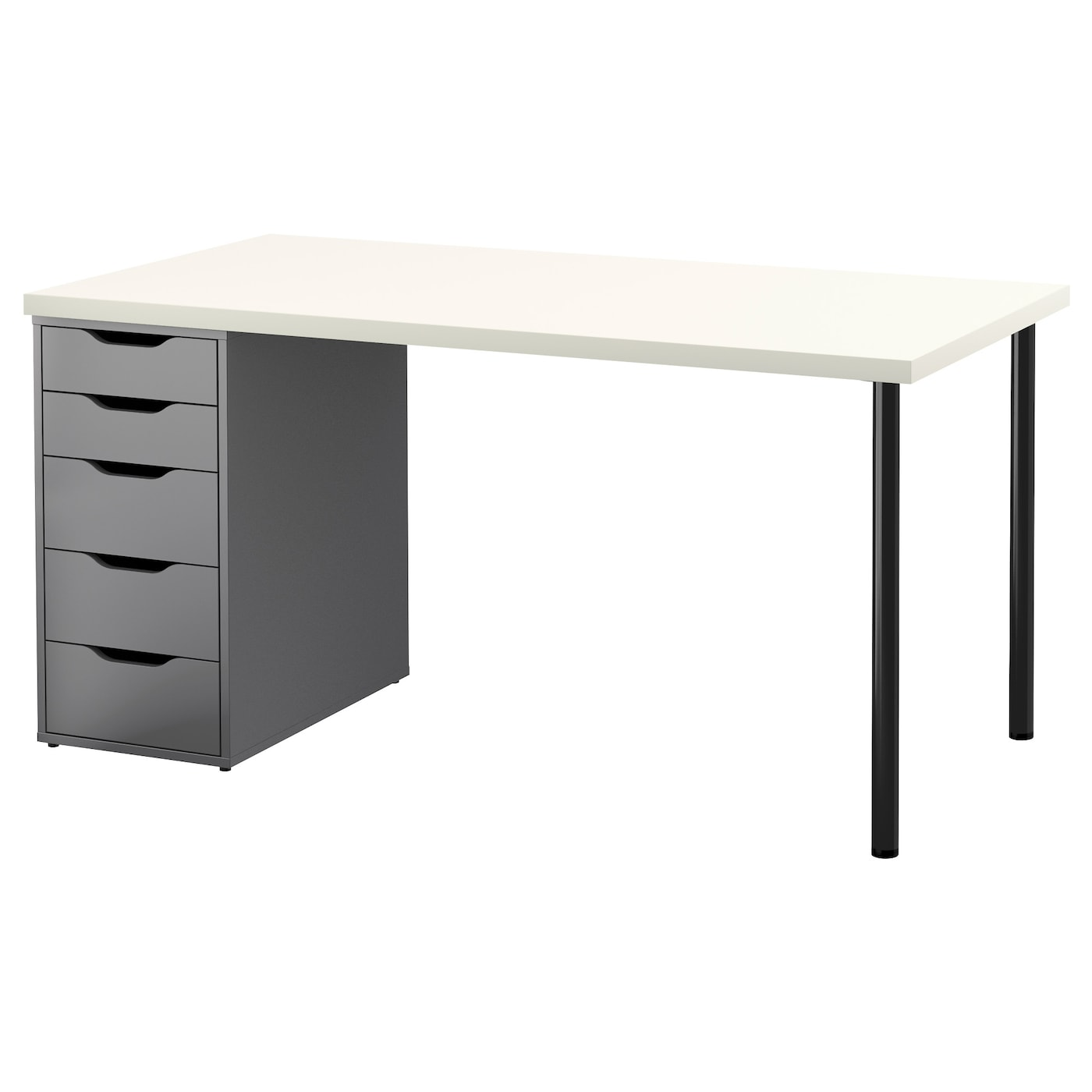 alex linnmon table white grey 150 x 75 cm ikea. Black Bedroom Furniture Sets. Home Design Ideas