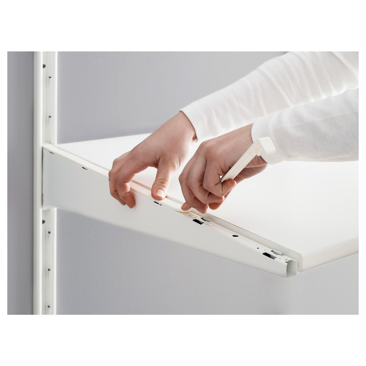 IKEA ALGOT bracket Can also be used in bathrooms and other damp areas indoors.