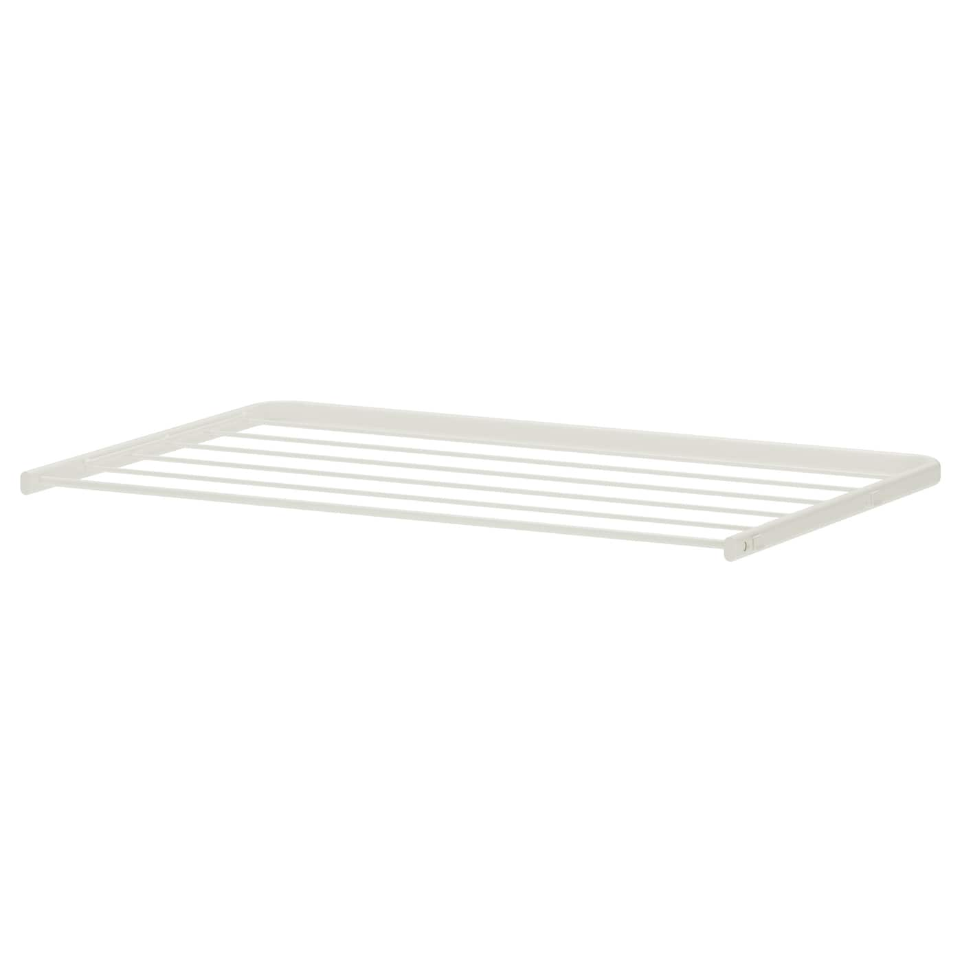 IKEA ALGOT drying rack Can also be used in bathrooms and other damp areas indoors.