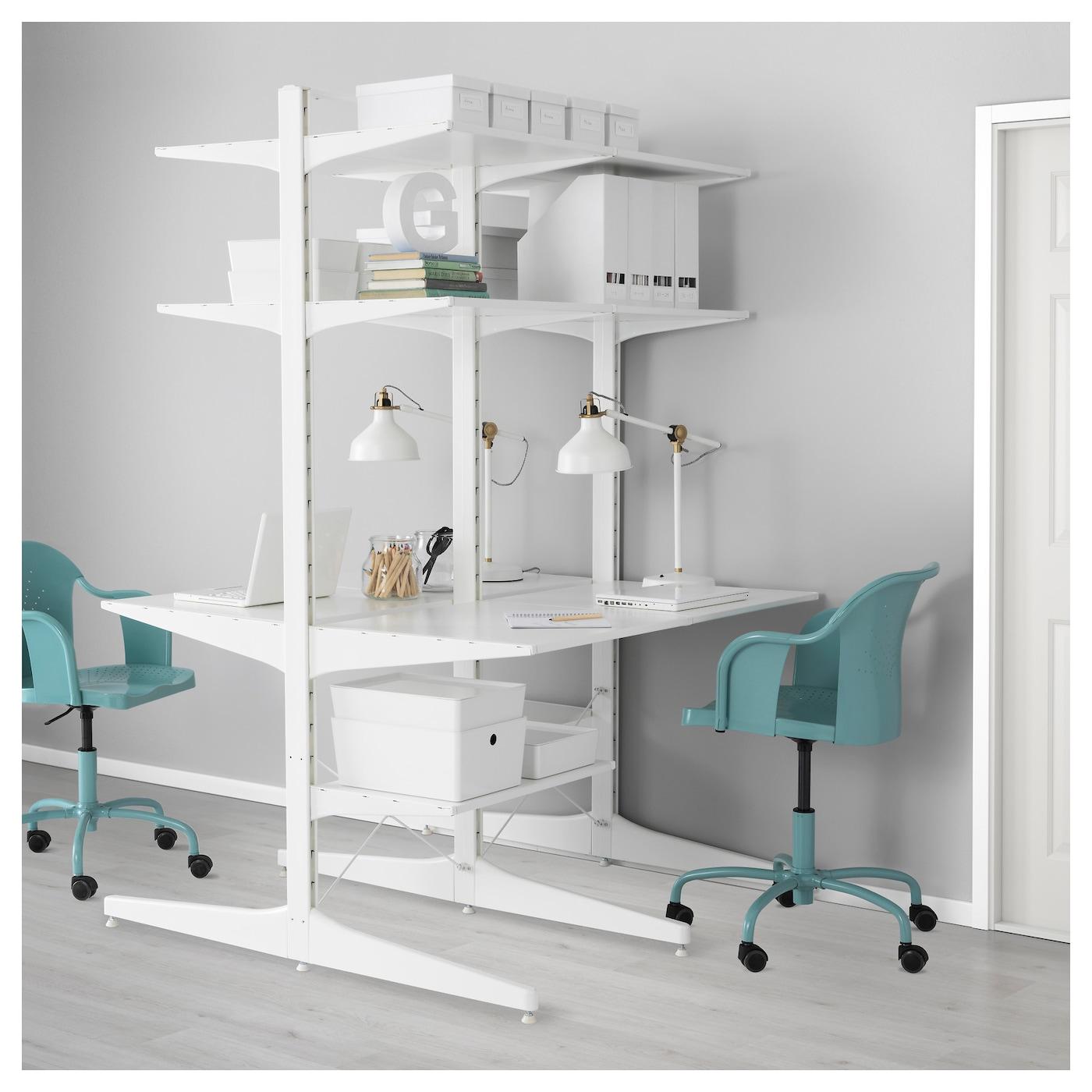 Used Ikea algot foot white 58 cm - ikea