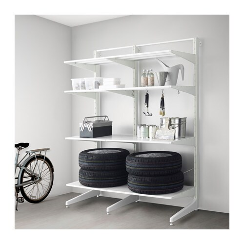 IKEA ALGOT post/foot/shelves Can also be used in bathrooms and other