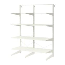 Ikea Algot Post Foot Shelves Can Also Be Used In Bathrooms And Other Damp