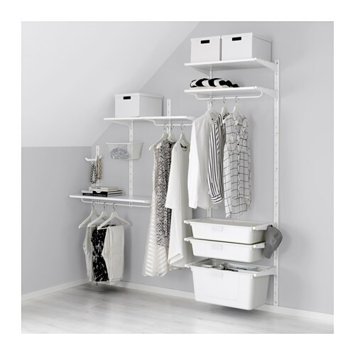 algot wall upright shelves box white 189x41x197 cm ikea. Black Bedroom Furniture Sets. Home Design Ideas