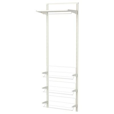 ALGOT wall upright/shelves/shoe organiser white 66 cm 41 cm 199 cm