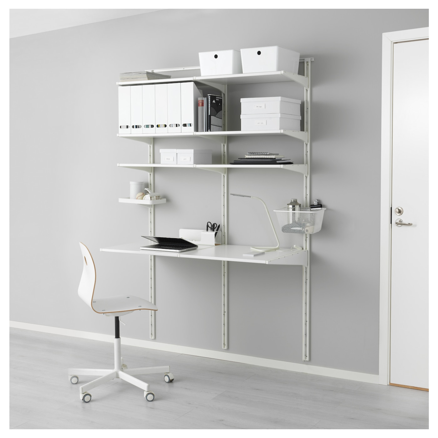 algot wall upright shelves white 154x60x196 cm ikea. Black Bedroom Furniture Sets. Home Design Ideas