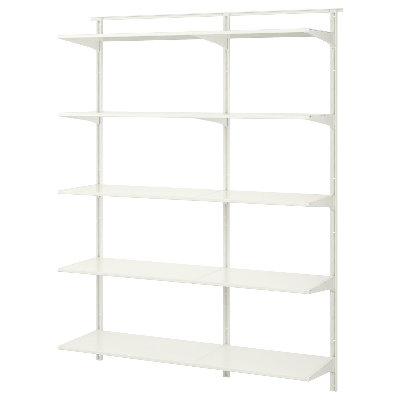 algot wall upright shelves white 154 x 40 x 196 cm ikea. Black Bedroom Furniture Sets. Home Design Ideas