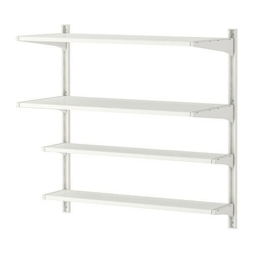 Ikea Küchen Elektrogeräte Test ~ ALGOT Wall upright shelves IKEA The parts in the ALGOT series can be