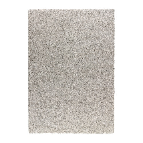 IKEA ALHEDE rug, high pile The high pile makes it easy to join several rugs, without a visible seam.