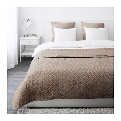 IKEA ALINA bedspread and 2 cushion covers