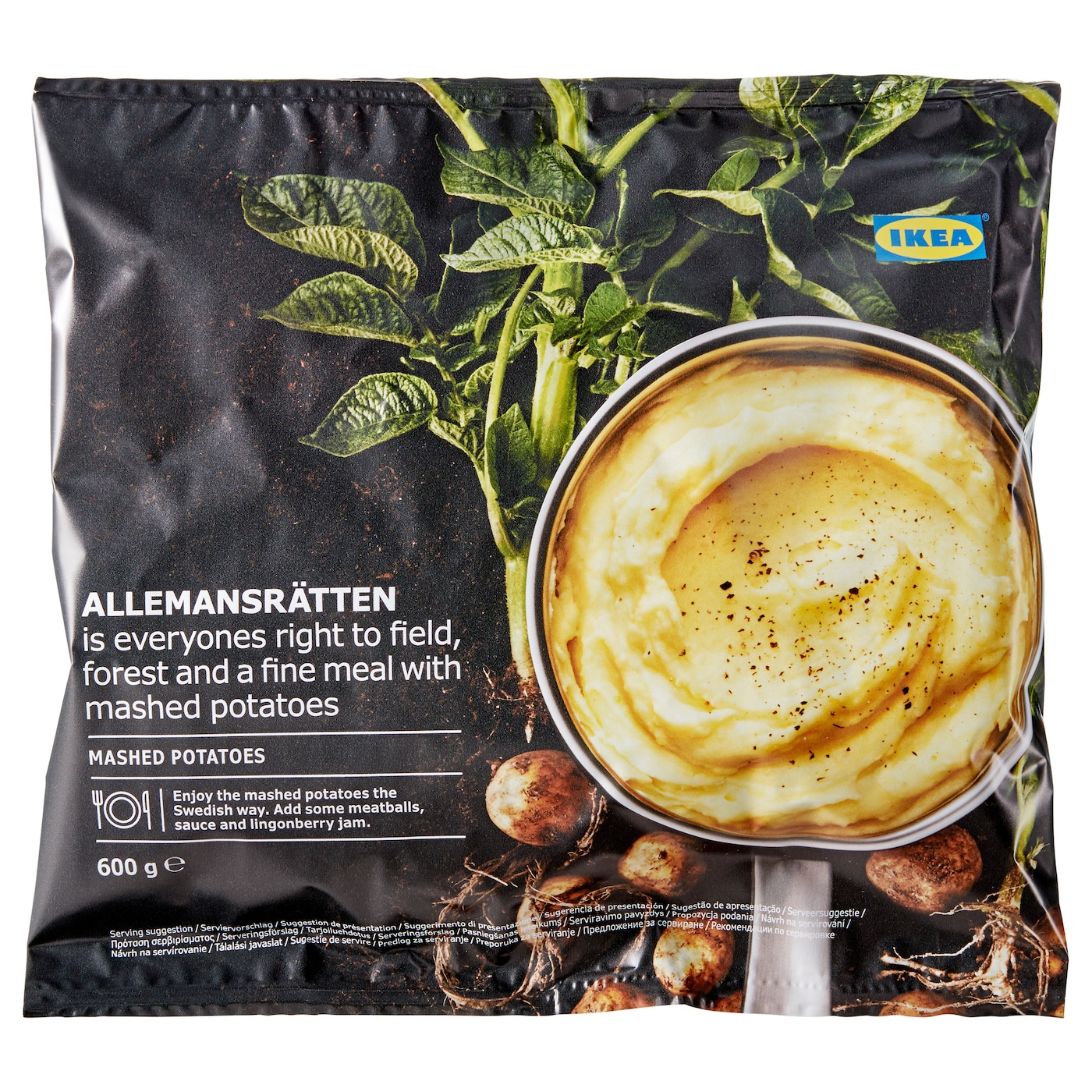 IKEA ALLEMANSRÄTTEN mashed potatoes, frozen
