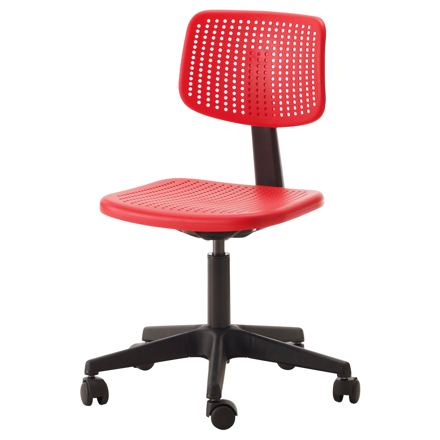 IKEA ALRIK swivel chair You sit comfortably since the chair is adjustable in height.