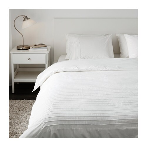 alvine str quilt cover and 4 pillowcases white 200x200 50x80 cm ikea. Black Bedroom Furniture Sets. Home Design Ideas