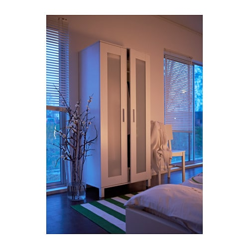 Ikea Aspelund Wardrobe Inside ~ Details about Brand New ANEBODA Wardrobe, white, Adjustable Hinges