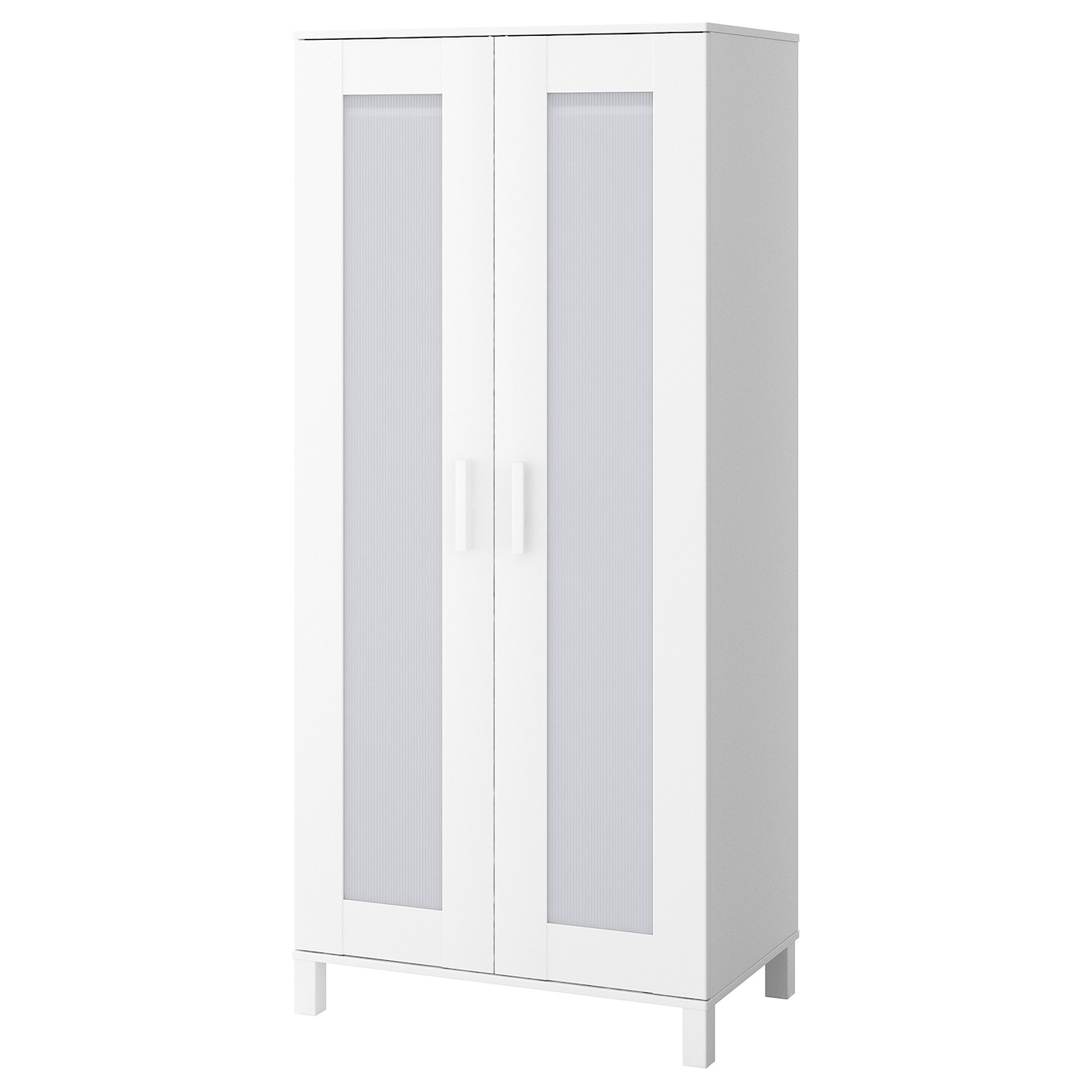 IKEA ANEBODA wardrobe Adjustable hinges ensure that the doors hang straight.
