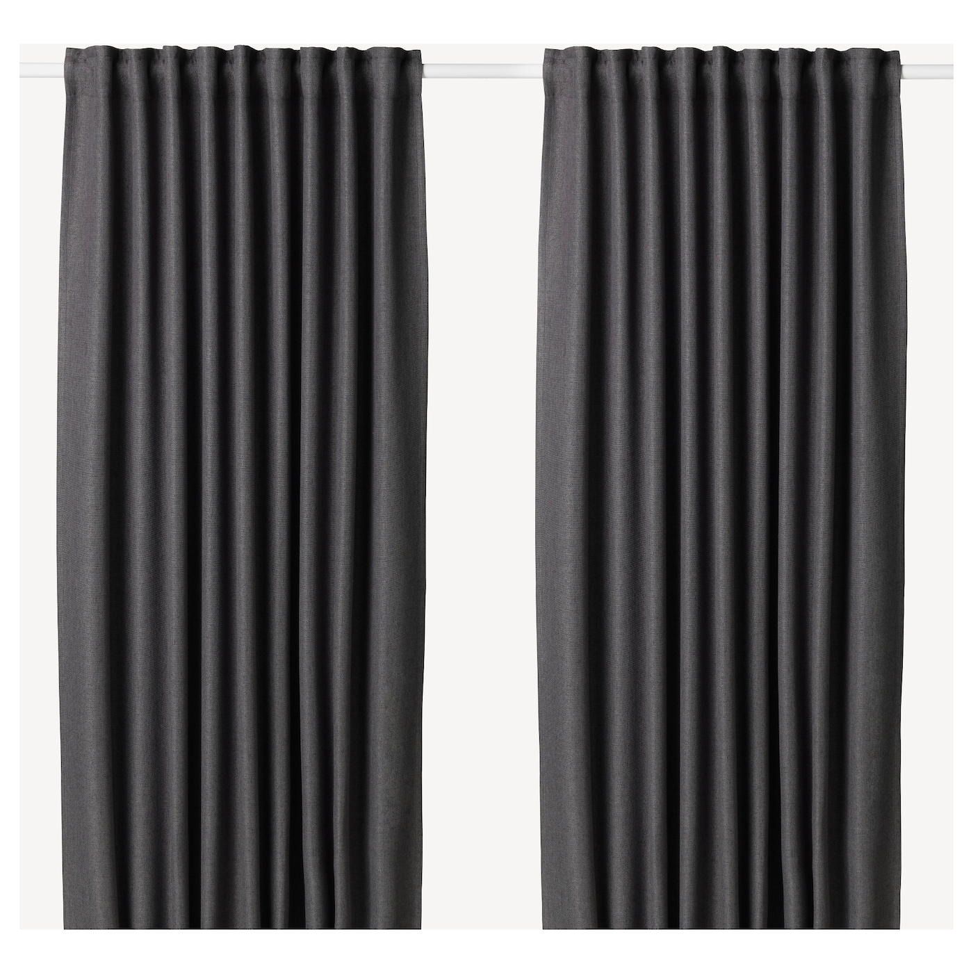 IKEA ANNAKAJSA block-out curtains, 1 pair