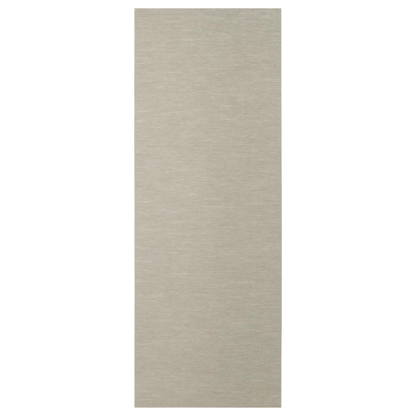 anno sanela panel curtain beige 60x300 cm ikea. Black Bedroom Furniture Sets. Home Design Ideas
