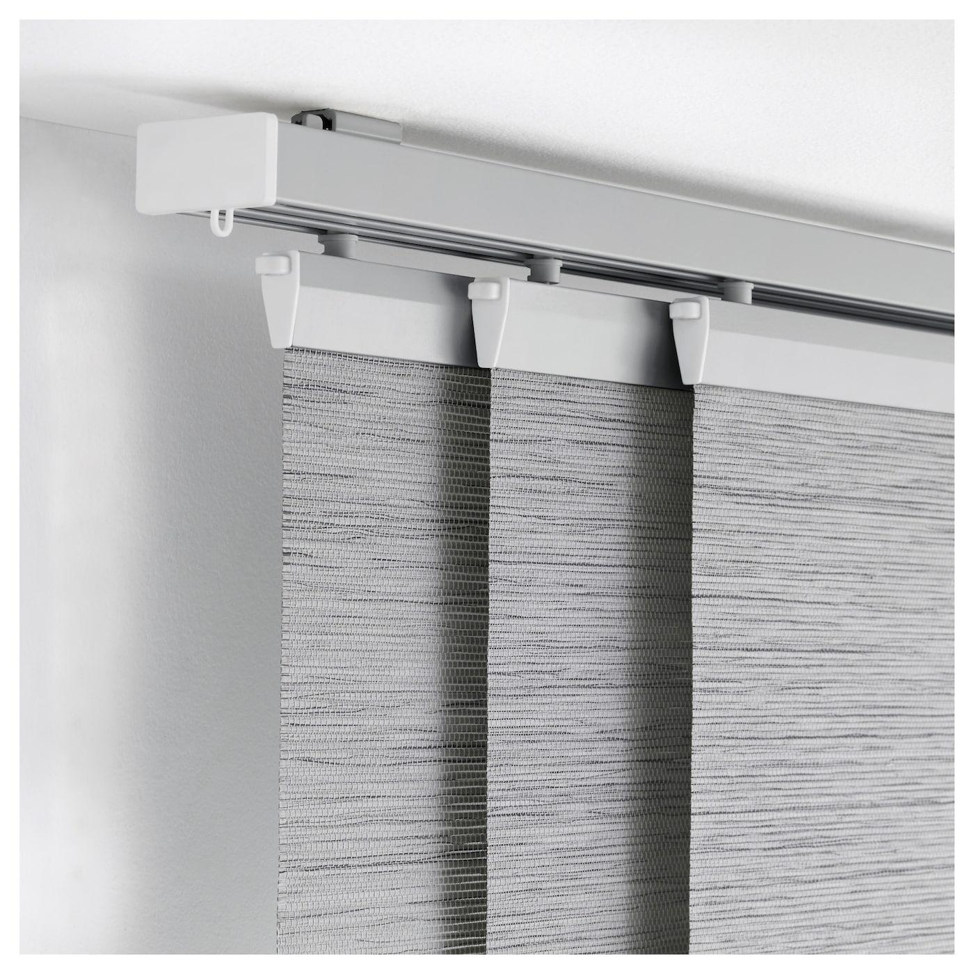 Anno sanela panel curtain grey 60x300 cm ikea - Riel panel japones ikea ...