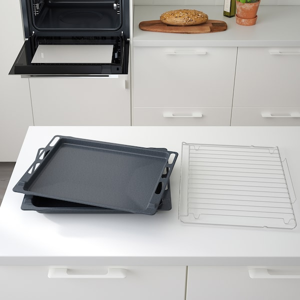 ANRÄTTA Forced air oven, stainless steel