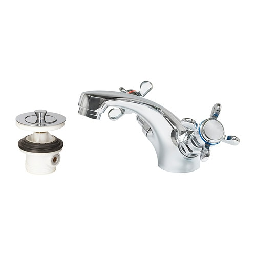 APELSKÄR Wash-basin mixer tap with strainer IKEA 10 year guarantee.   Read about the terms in the guarantee brochure.