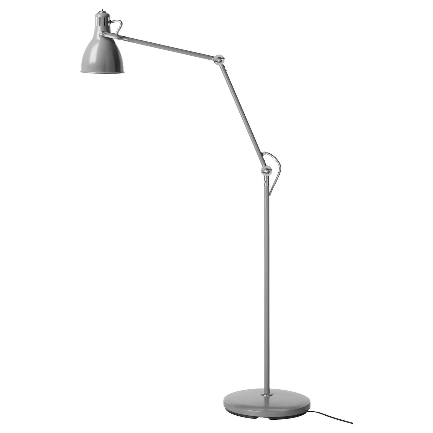 ARD Floorreading lamp Grey IKEA